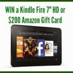 Kindle Fire Giveaway 4th – 18th April