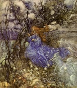 A Fairy by Arthur RAckw