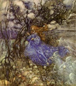 A Fairy by Arthur RAckw