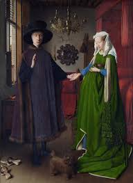 the Arnolfini Marriage by Van Eyck